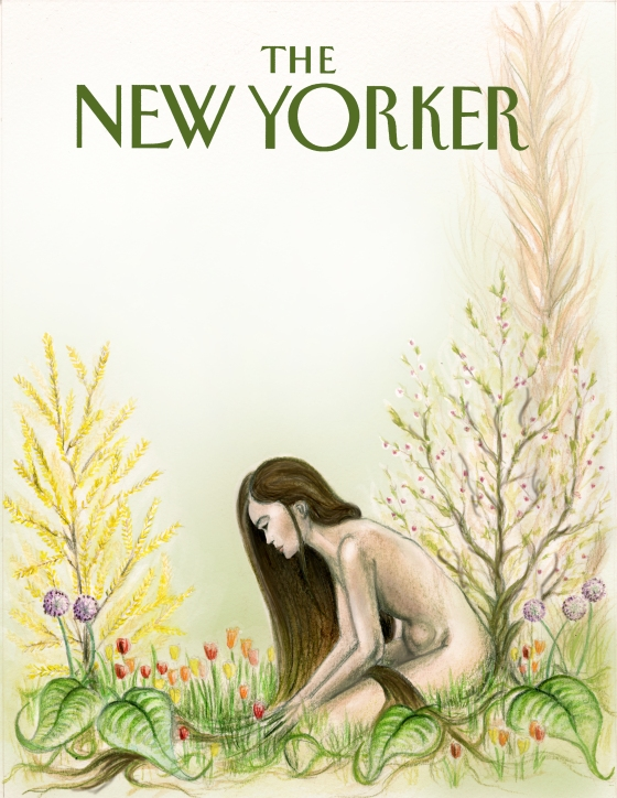 The New Yorker, spring cover idea