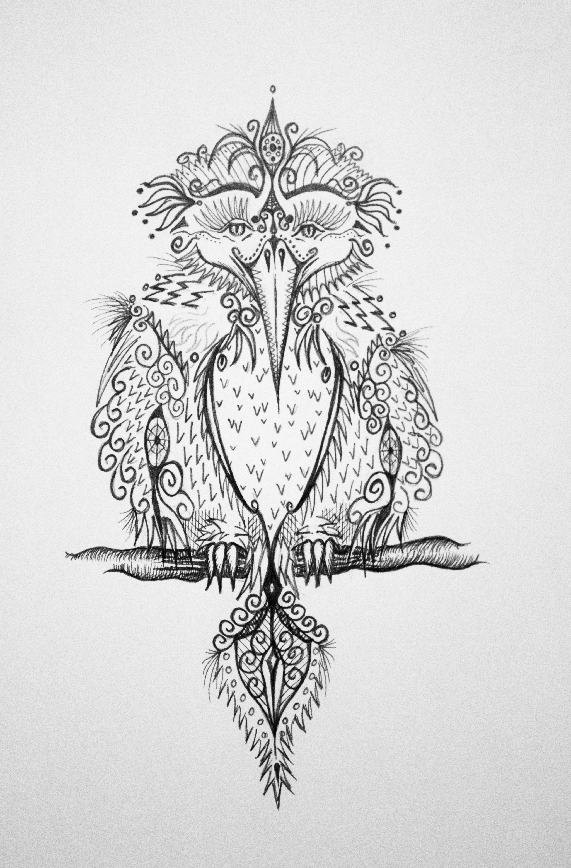 Pattern bird 1