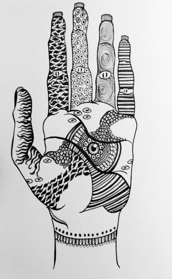 Patterns in your hands