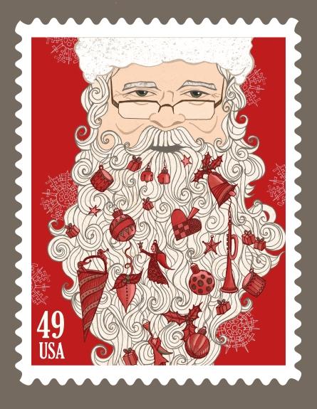Santa Stamp14