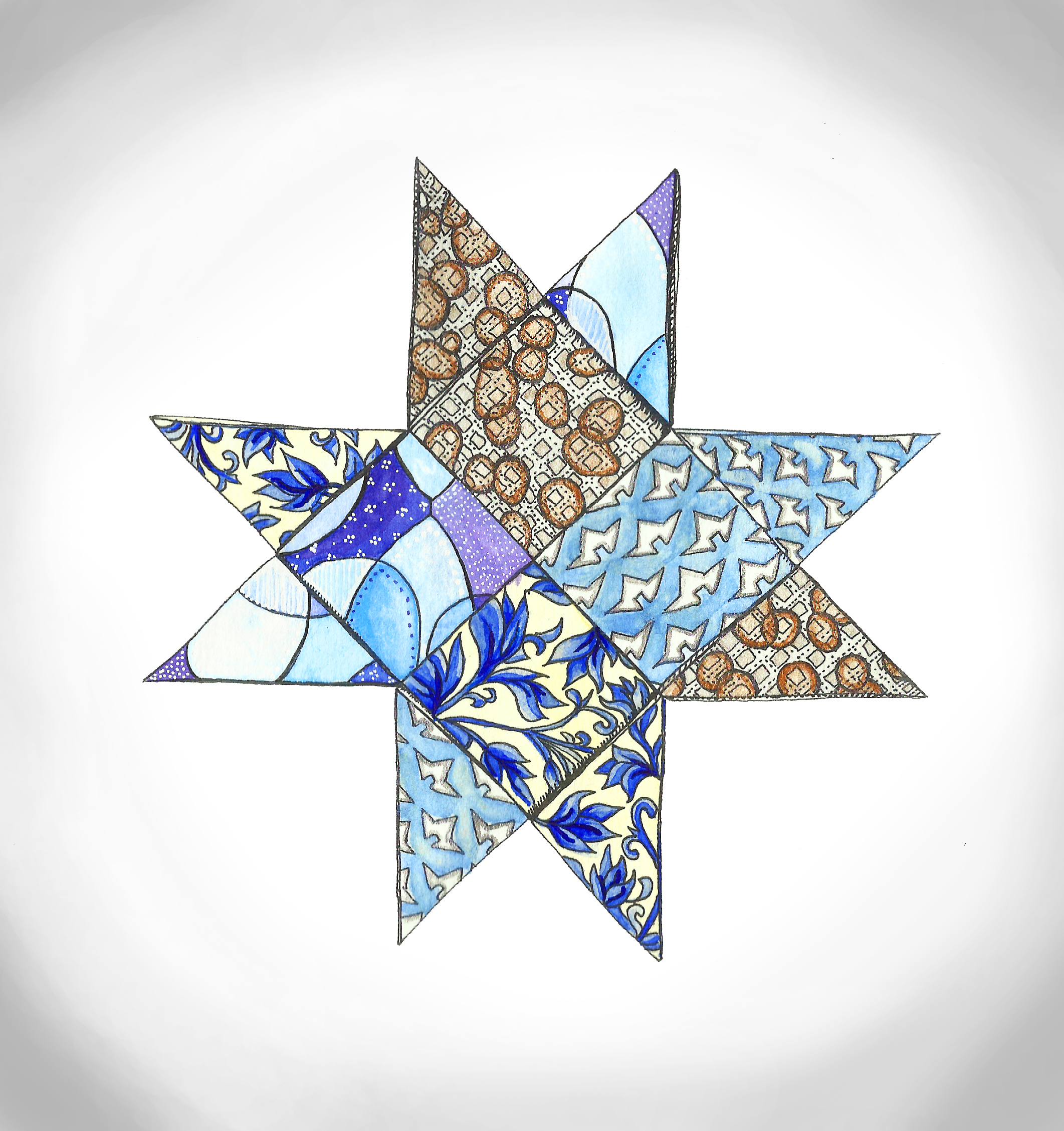 Pattern Star III now incolor!