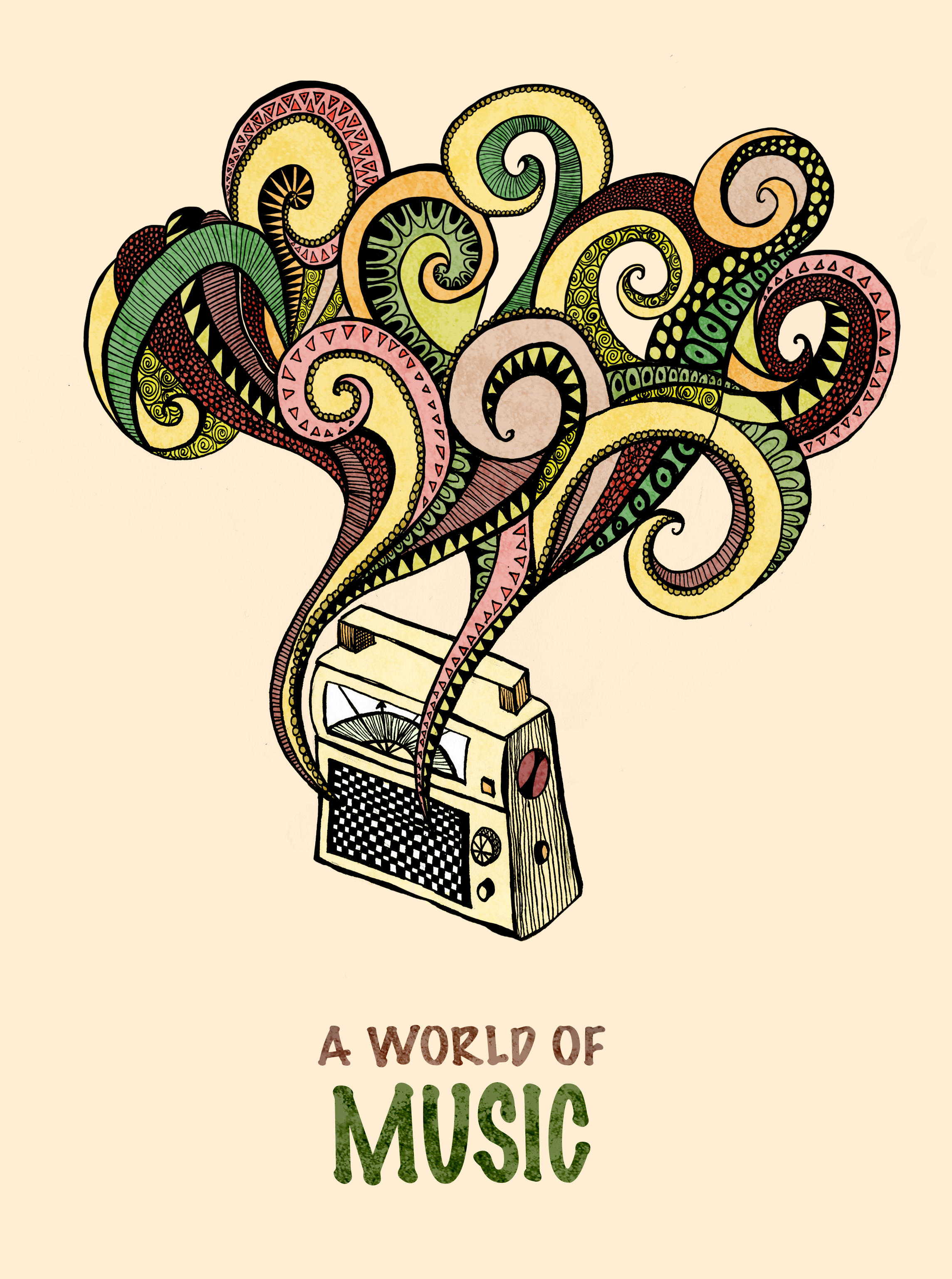 A world of music – in color!