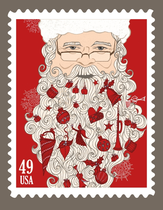 US Christmas Stamp Design