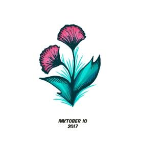 inktober 10 flora